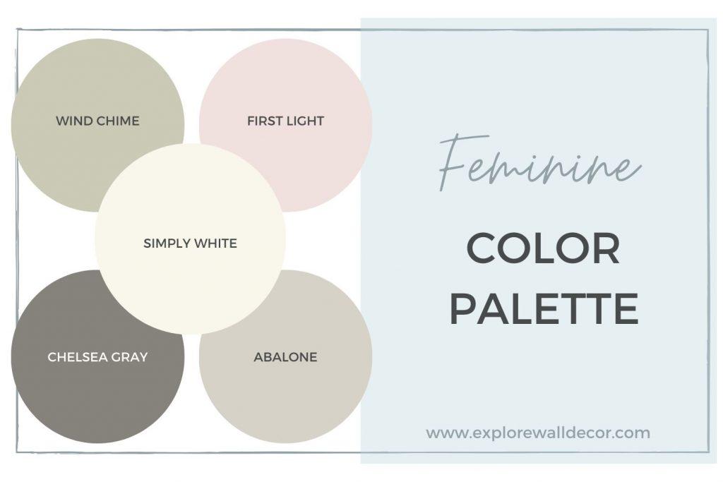 feminine color palette
