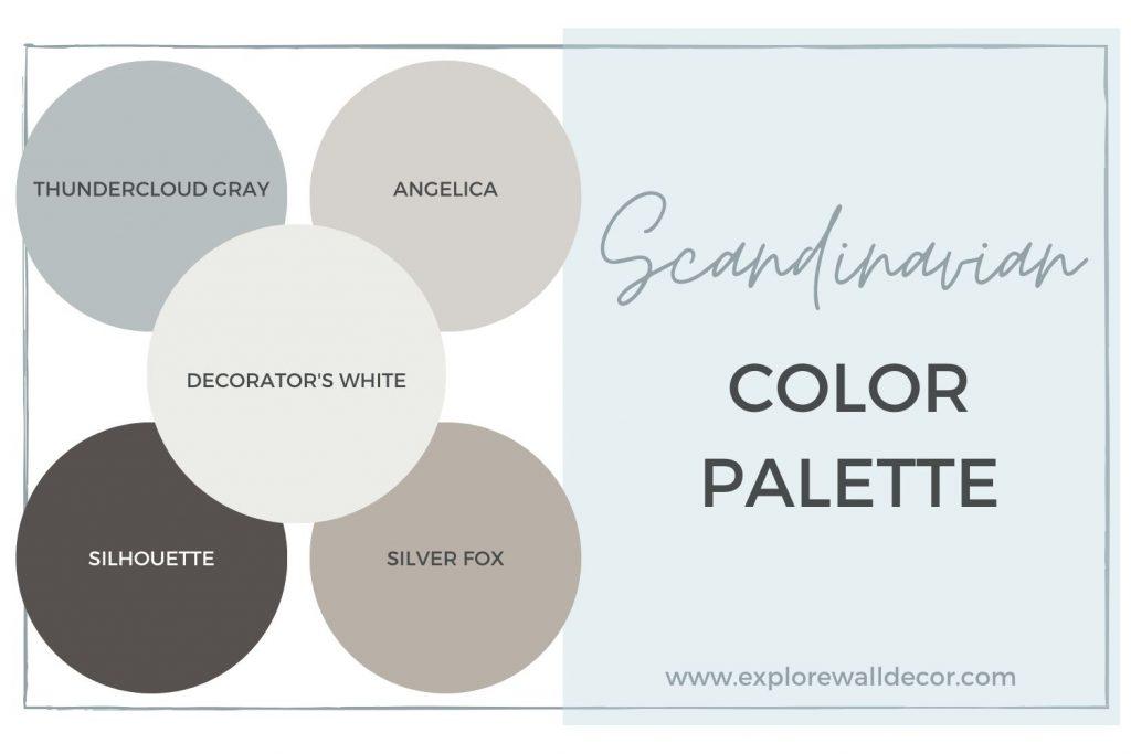 scandinavian color palette
