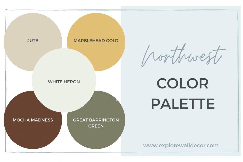 northwest color palette