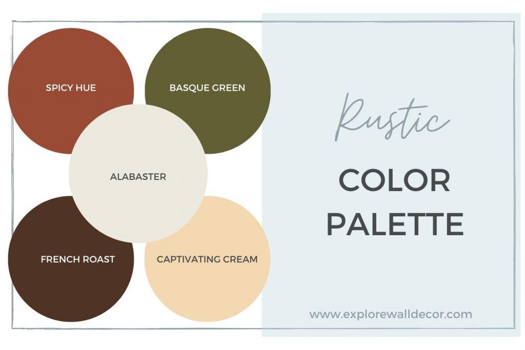 rustic color palette