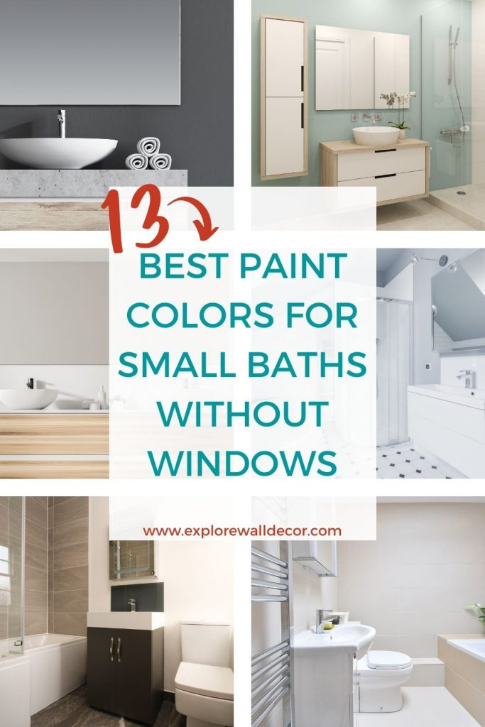 13 Of The Best Paint Colors For Small, Bathroom Paint Colors For Small Bathrooms 2021