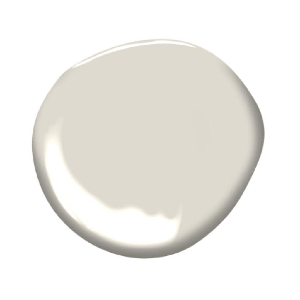 splash of pale oak paint