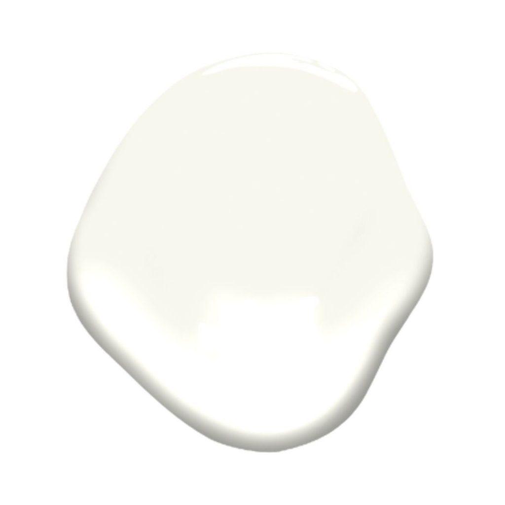simply white paint splotch