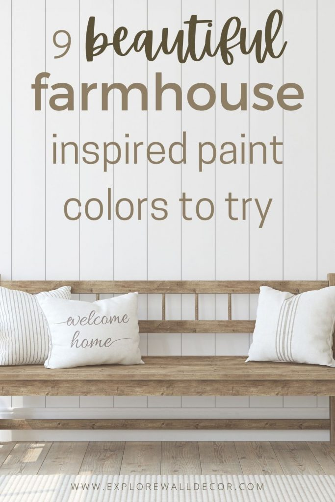 pin this image to share the article on benjamin moore farmhouse paint colors