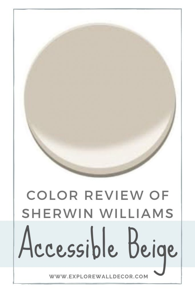 pin this image to share the review of sherwin williams accessible beige