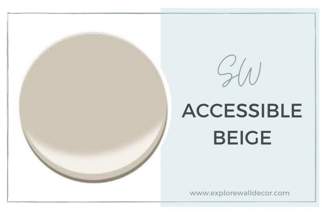 sherwin williams accessible beige featured image