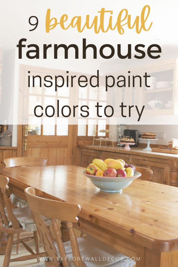 pin this image to share the article on sherwin williams farmhouse paint colors